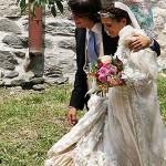 Пара сыграла свадьбу в июне 2012 года