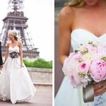 Романтичный парижский стиль невесты