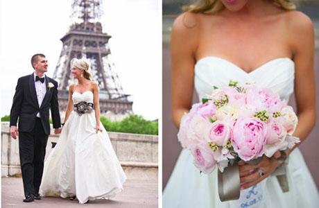 Роскошная свадьба в парижском стиле