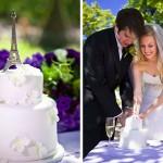 Яркая свадьба по-французски