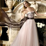 Пастельные тона хороши для свадебного платья