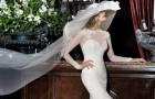 Бренд Alessandra Rinaudo выпустил коллекцию свадебных платьев