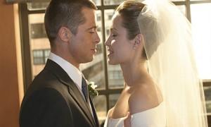 Джоли Питт свадьба 1