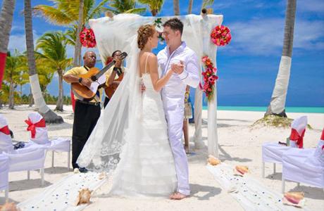 Колоритная свадьба в карибском стиле
