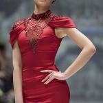 Яркое платье от Pavoni