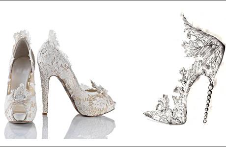 Туфли для невесты Кейт Миддлтон
