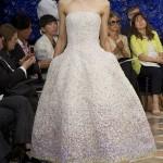 Вариант свадебного платья от Dior