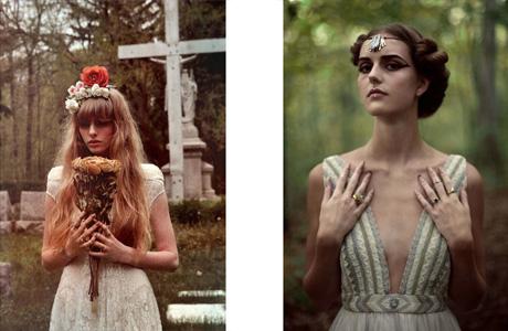 Свадебные платья в стиле хоррор