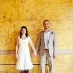 Яркая обувь невесты и жениха