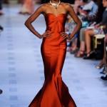 Шикарное терракотовое платье