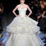 Коко Роша в платье невесты
