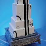 Торт со стразами