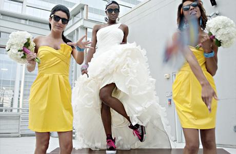 Оформление свадьбы в стиле 80-х