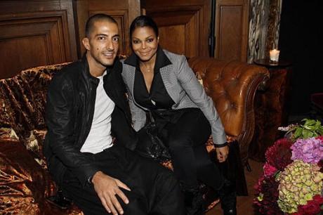 Зездная свадьба: Виссам Аль Мана и Джанет Джексон