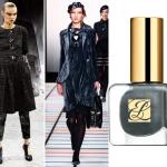 Chanel или Emporio Armani будет сочетаться лаком Estee Lauder