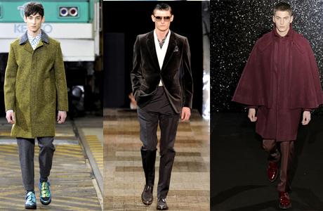Модный жених: тенденции осени 2012
