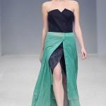 Двухслойное платье от Владимира Подоляна