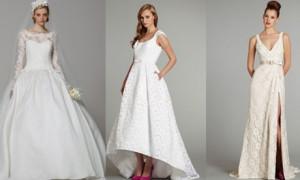 Тенденция весны 2013 - платья с кружевами