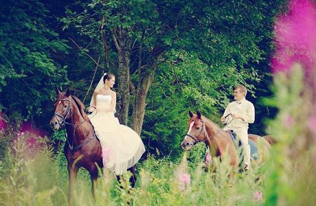 Уроки верховой езды - отличный свадебный подарок