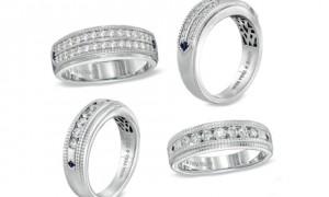 Обручальные кольца от Vera Wang