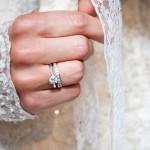 Кольца невесты с бриллиантами