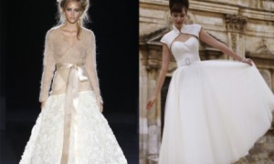 Модные осенние платья сезона 2012