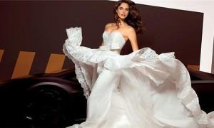 Ирина Шейк в платье Alessandro Angelozzi Couture