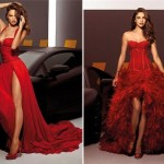 Красные модели Alessandro Angelozzi Couture
