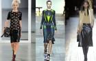 Тренд зимы 2013 - кожаная юбка