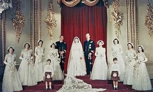 Свадьба принцессы Елизаветы. 1947 год