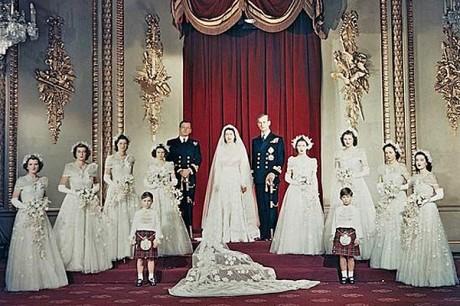 Свадьба королевы Елизаветы II. 1947 год