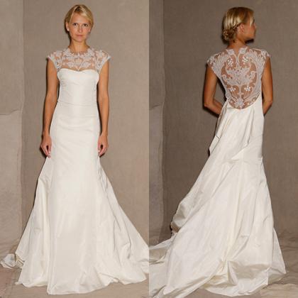 Комментарий: Свадебное платье раскрывает характер невесты как ничто другое. Поэтому мы подобрали для вас