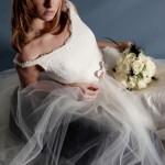 Роскошная прическа невесты 2013