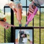 Оригинальные портреты молодоженов на свадьбе