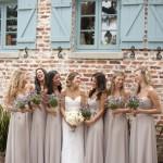 Самые шикарные сочетания платья невесты и подружек