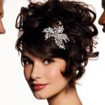 Свадебные прически для брюнеток 2013