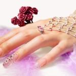 Свадебный нейл-арт 2013