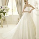 Свадебный наряд 2013