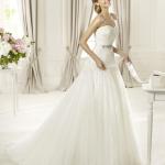 Длинные свадебные наряды 2013