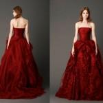Изысканный свадебный наряд 2013