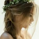 Роскошные свадебные прически 2013