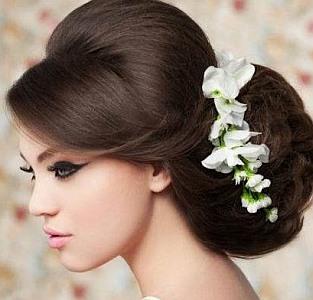 Свадьба причёски