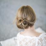 Свадебная прическа 2013