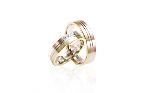 """Обручальное кольцо """"Искрящийся алмаз"""""""