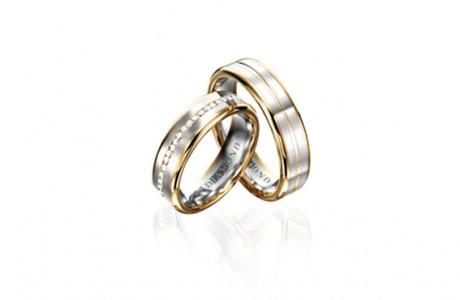 """Обручальные кольца для молодоженов """"Огневые цветы"""""""
