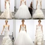 Целая коллекция свадебных платьев от Веры Вонг 2013