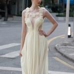 Необычное платье невесты