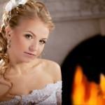 Локоны невесты-блондинки