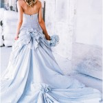 Невеста в модном наряде