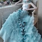Складочки и воланчики для роскошной невесты
